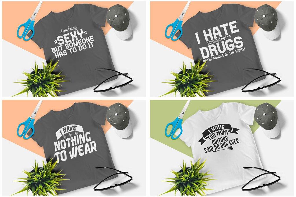200 Printready Tshirt Design Mega Bundle example image 22