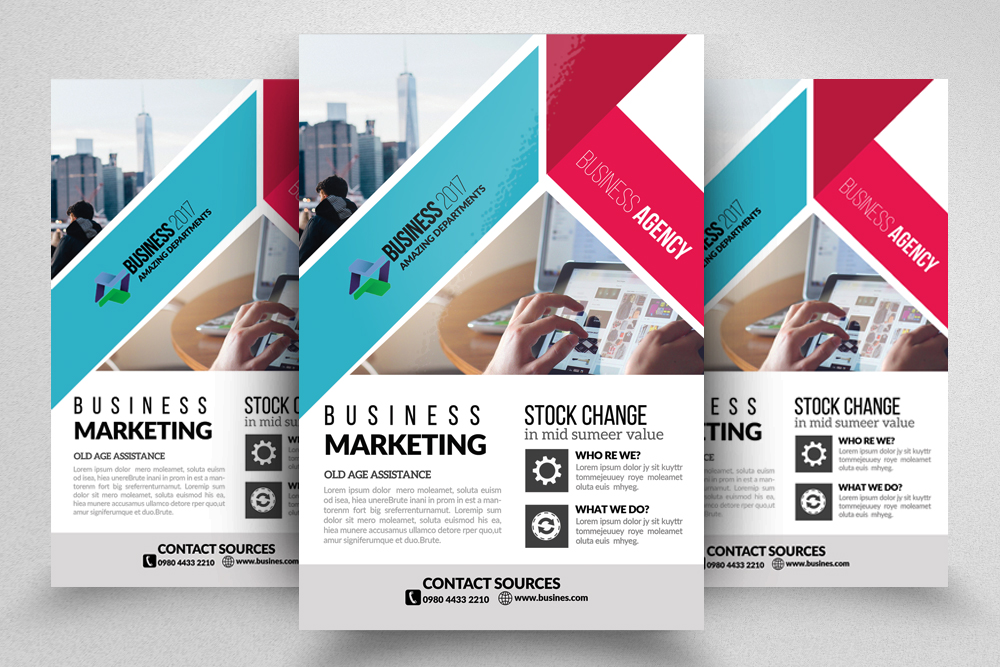 10 Corporate Flyer Templates Bundle example image 8