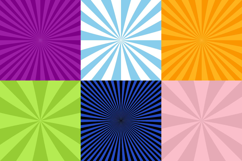 50 Burst Backgrounds AI, EPS, JPG 5000x5000 example image 3