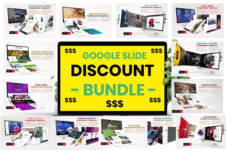 Bundles Vol 1 Google Slide Template example image 1