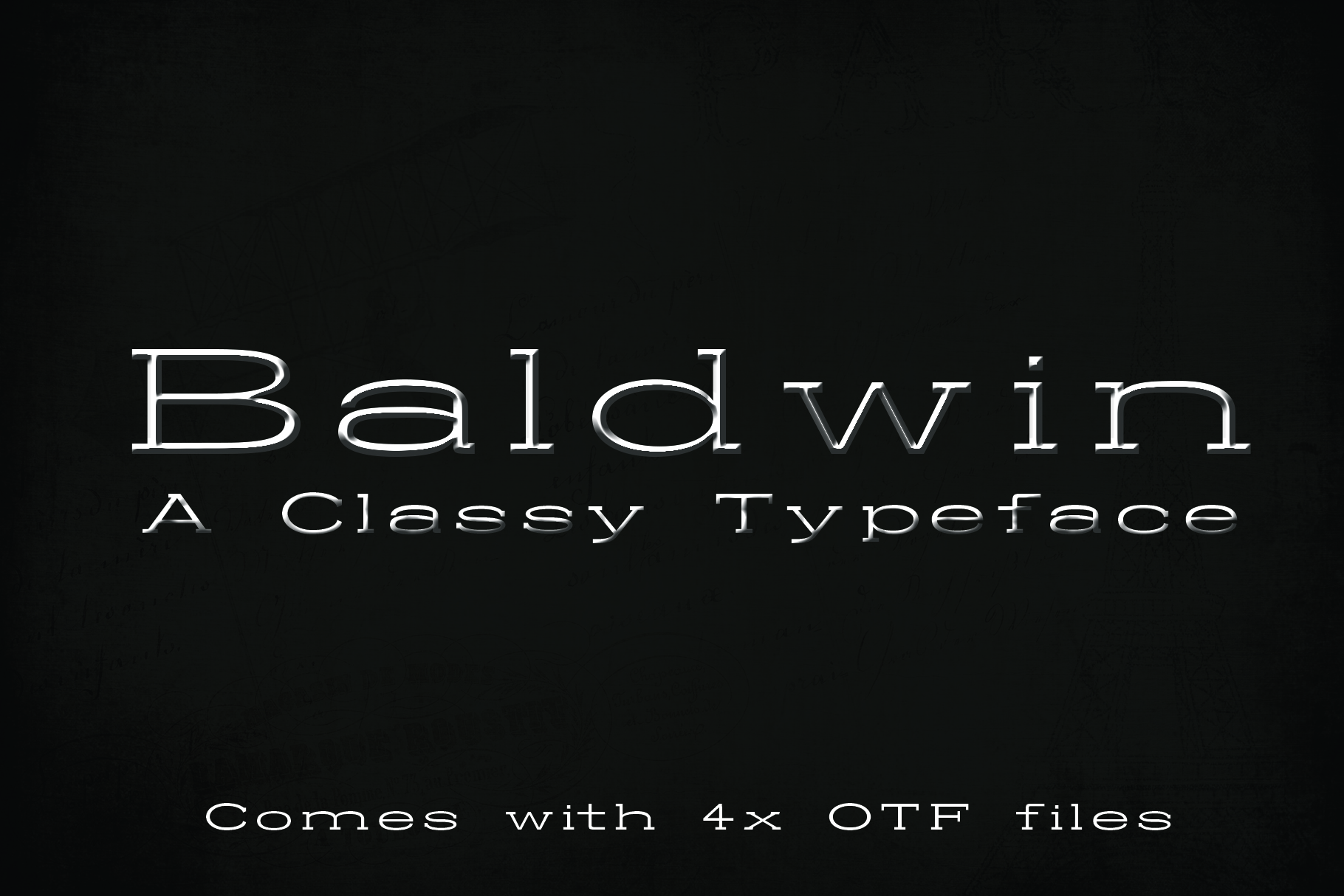 12 fonts in one bundle example image 10