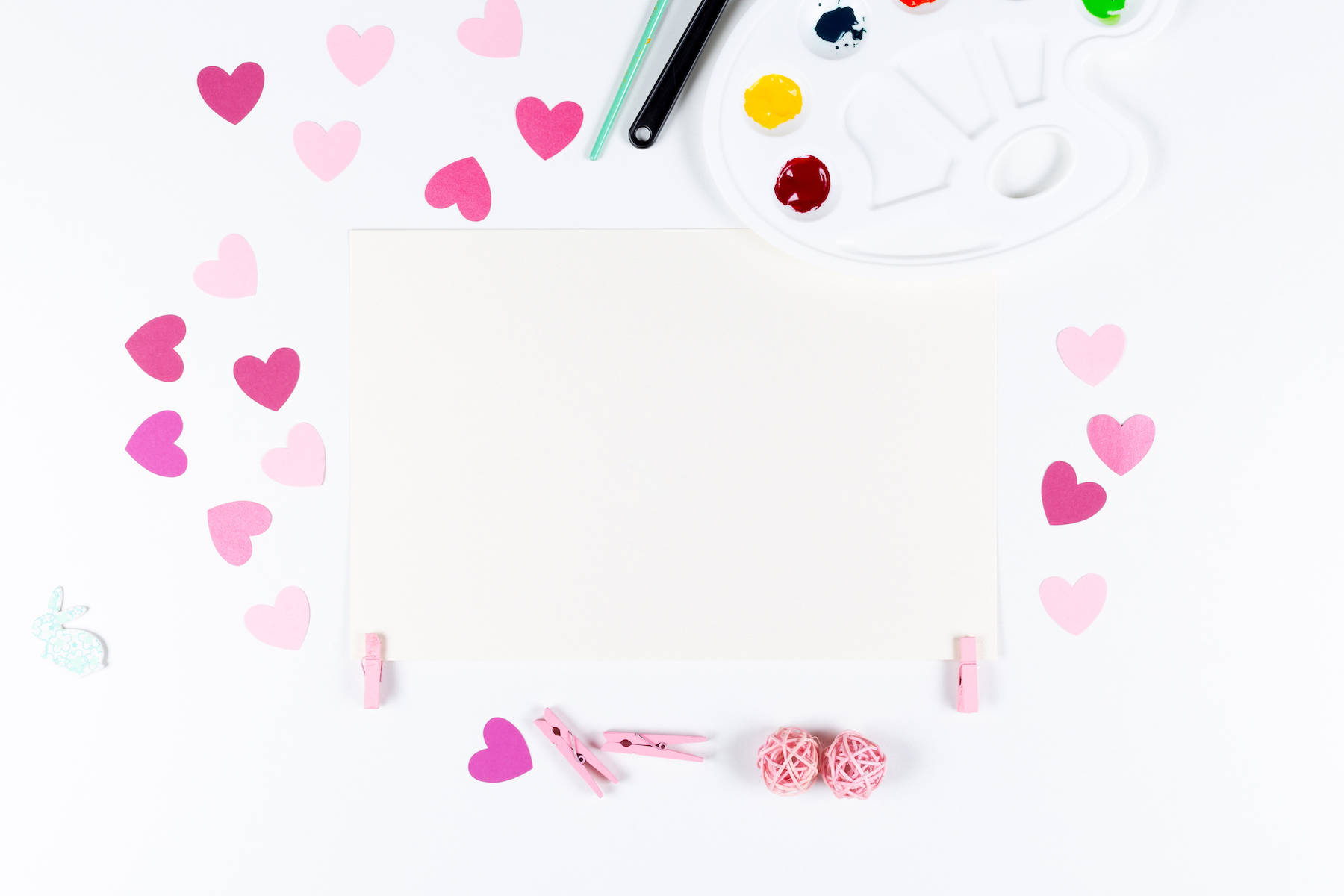 Set of 8 Valentine's Mockup's example image 8