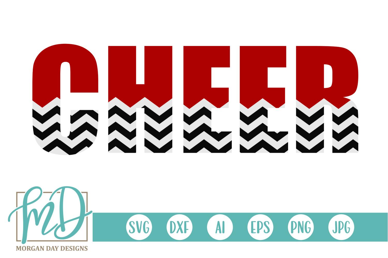 Cheer - Cheerleader SVG, DXF, AI, EPS, PNG, JPEG example image 1