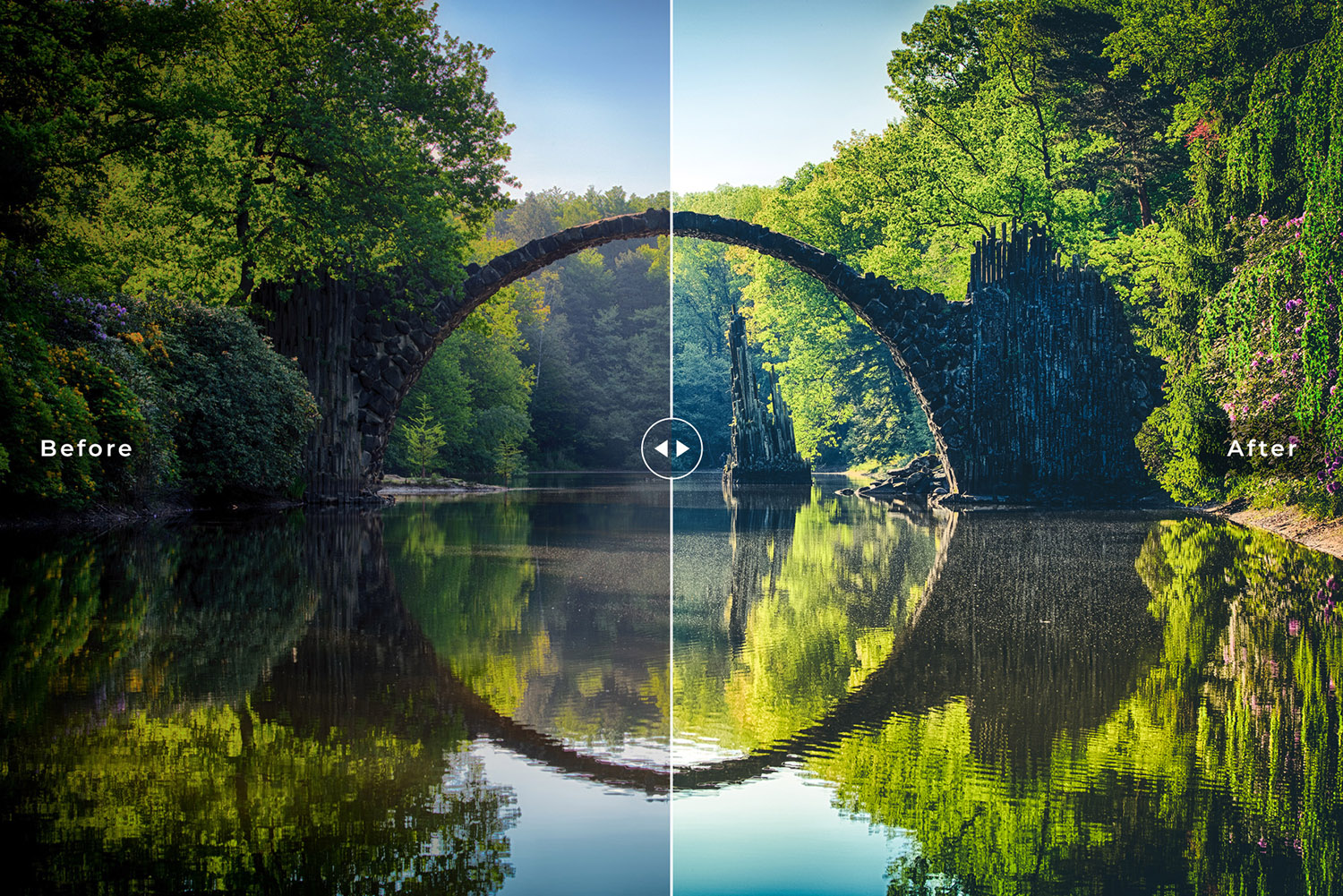 Nature Mobile and Desktop Lightroom Presets Collection example image 4
