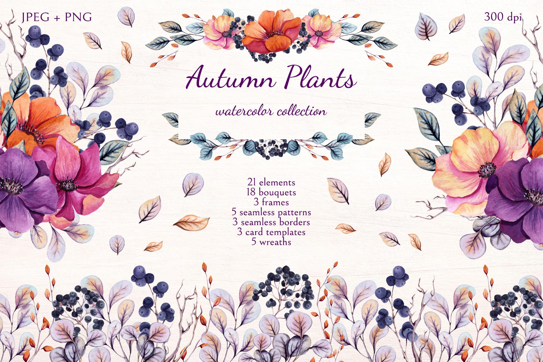 Autumn Plants example image 1