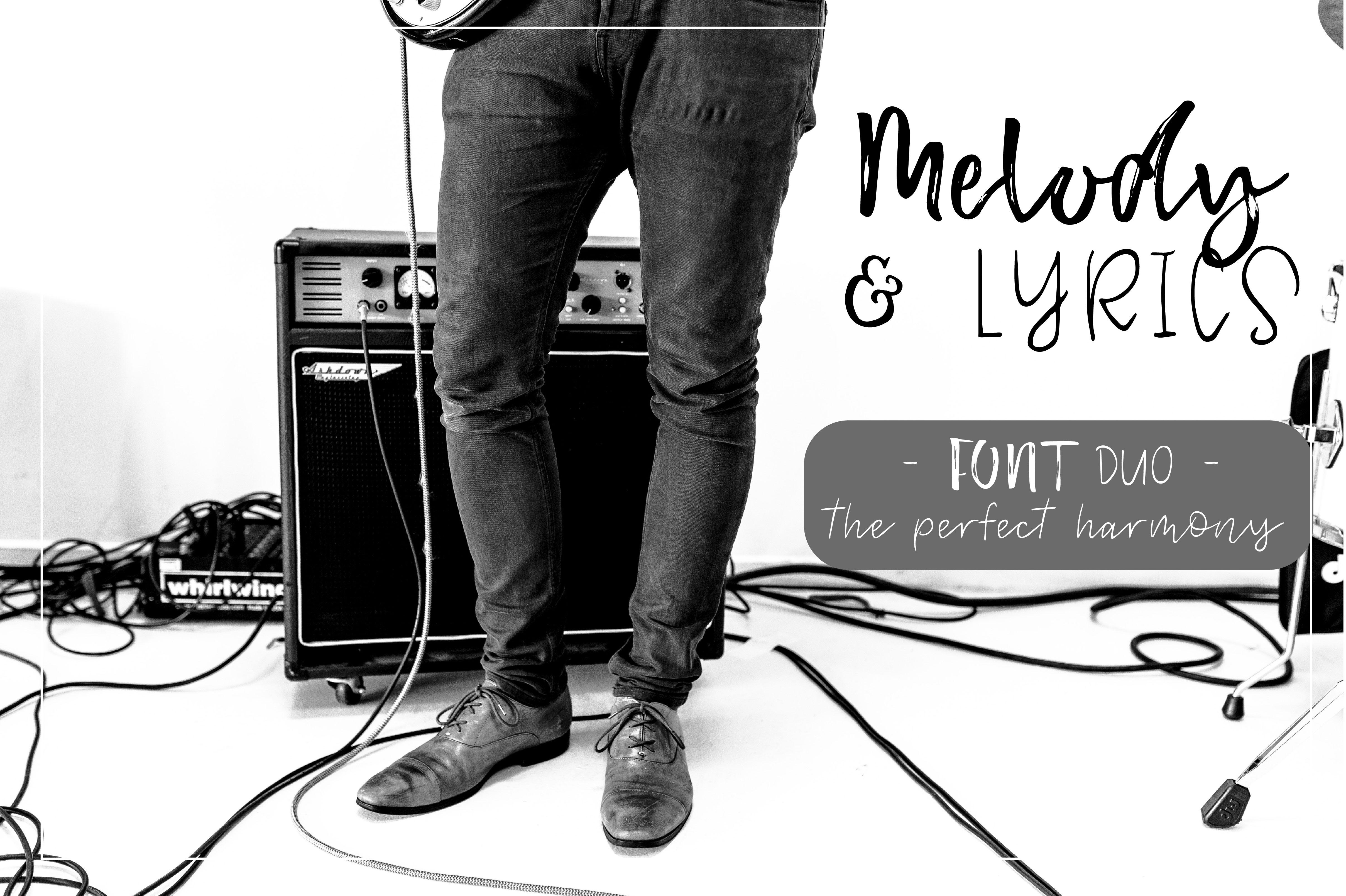 Melody & Lyrics example image 1