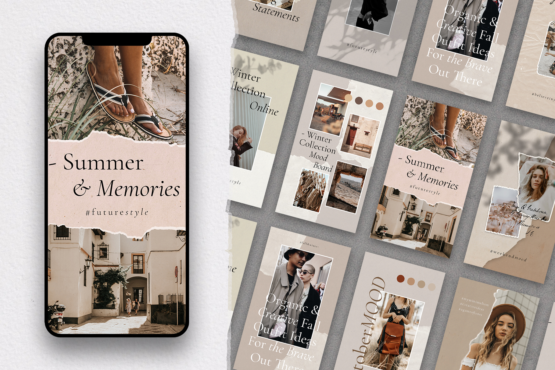 #InstaBabe - Creative & Modern Instagram Story Templates example image 2