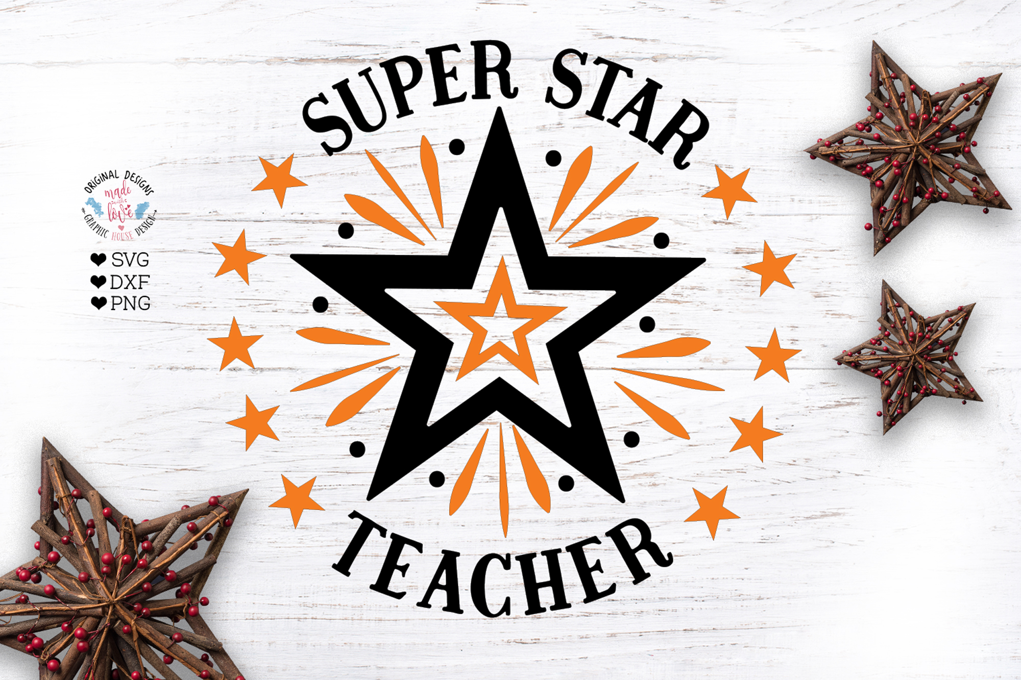 Super Star Teacher example image 1
