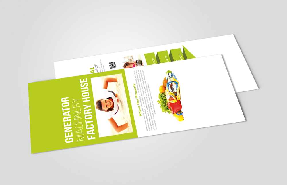 Health & Fitness Rack Card Template example image 2