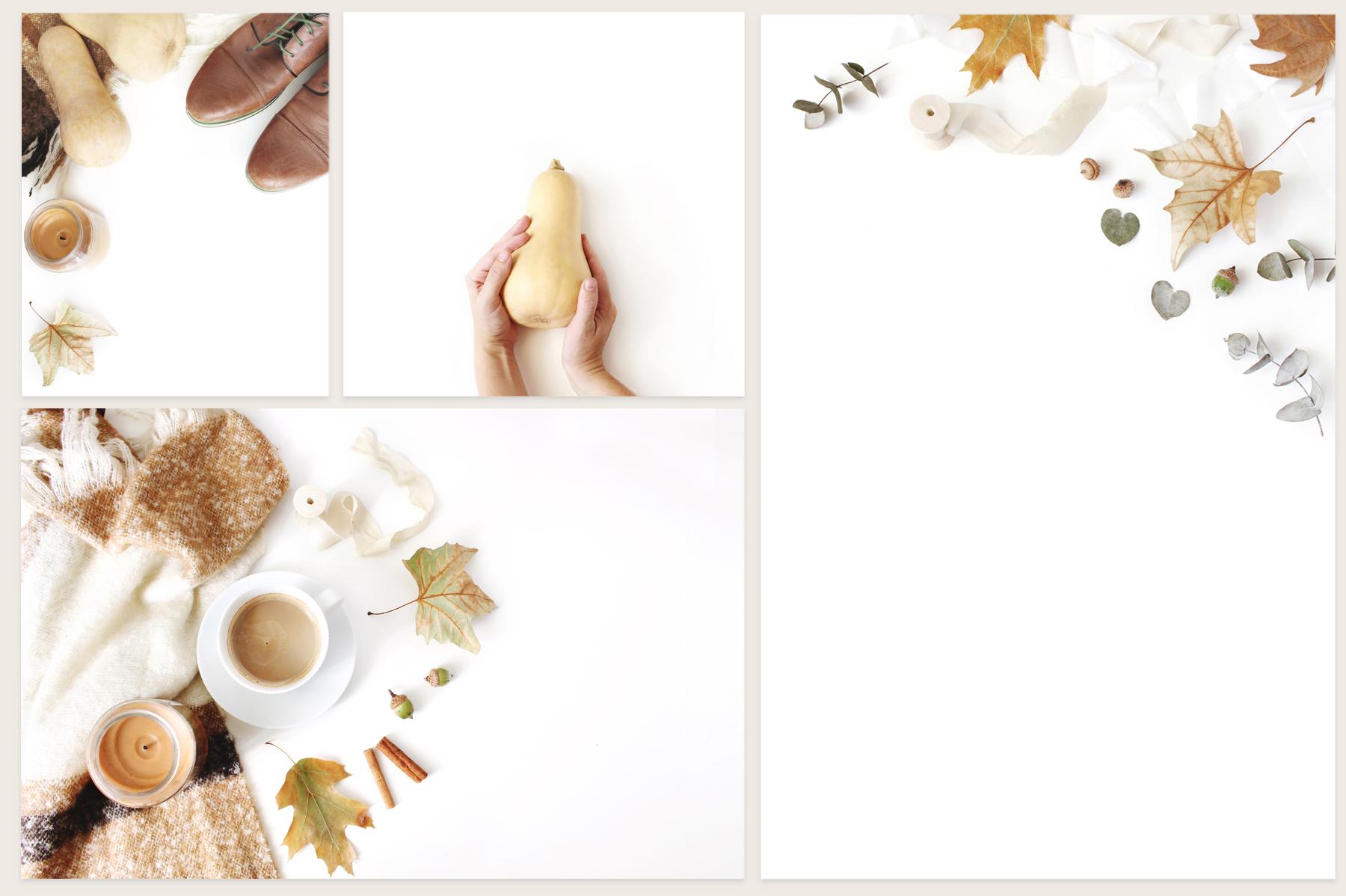 20 Charming autumn mockups & stock photo bundle example image 8