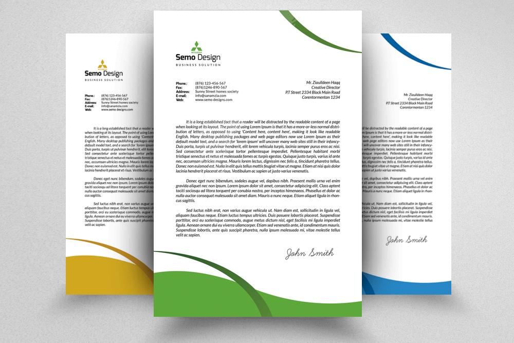 Business Letterhead example image 1