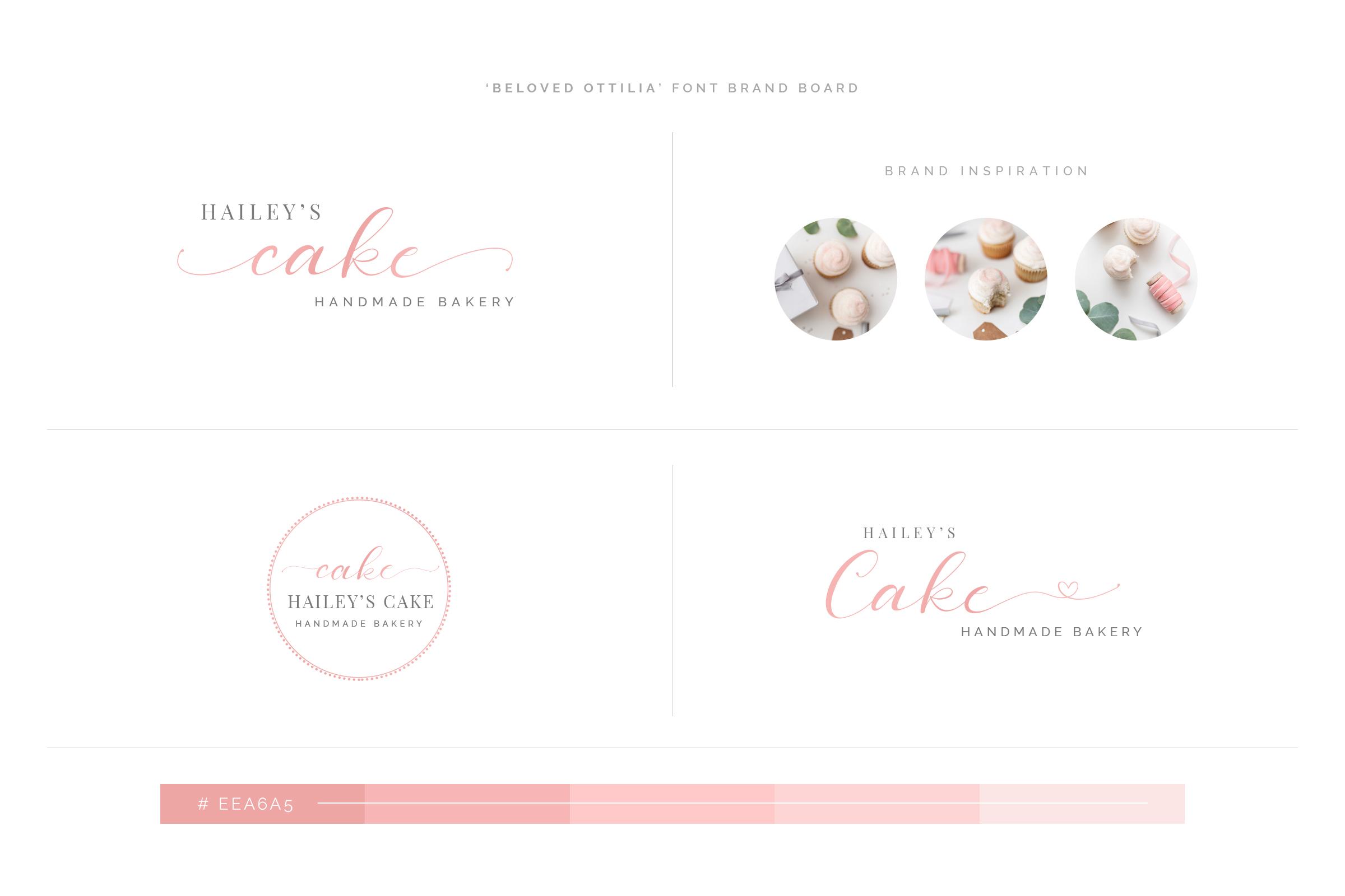 Beloved Ottilia Font 60 Free Logos example image 18