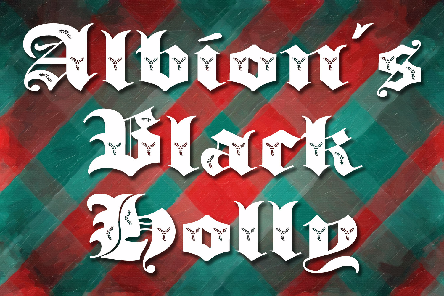 Albion's Black Holly example image 2