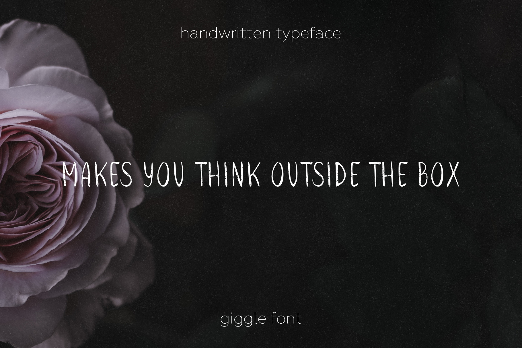 Giggle handwritten typeface.  example image 3