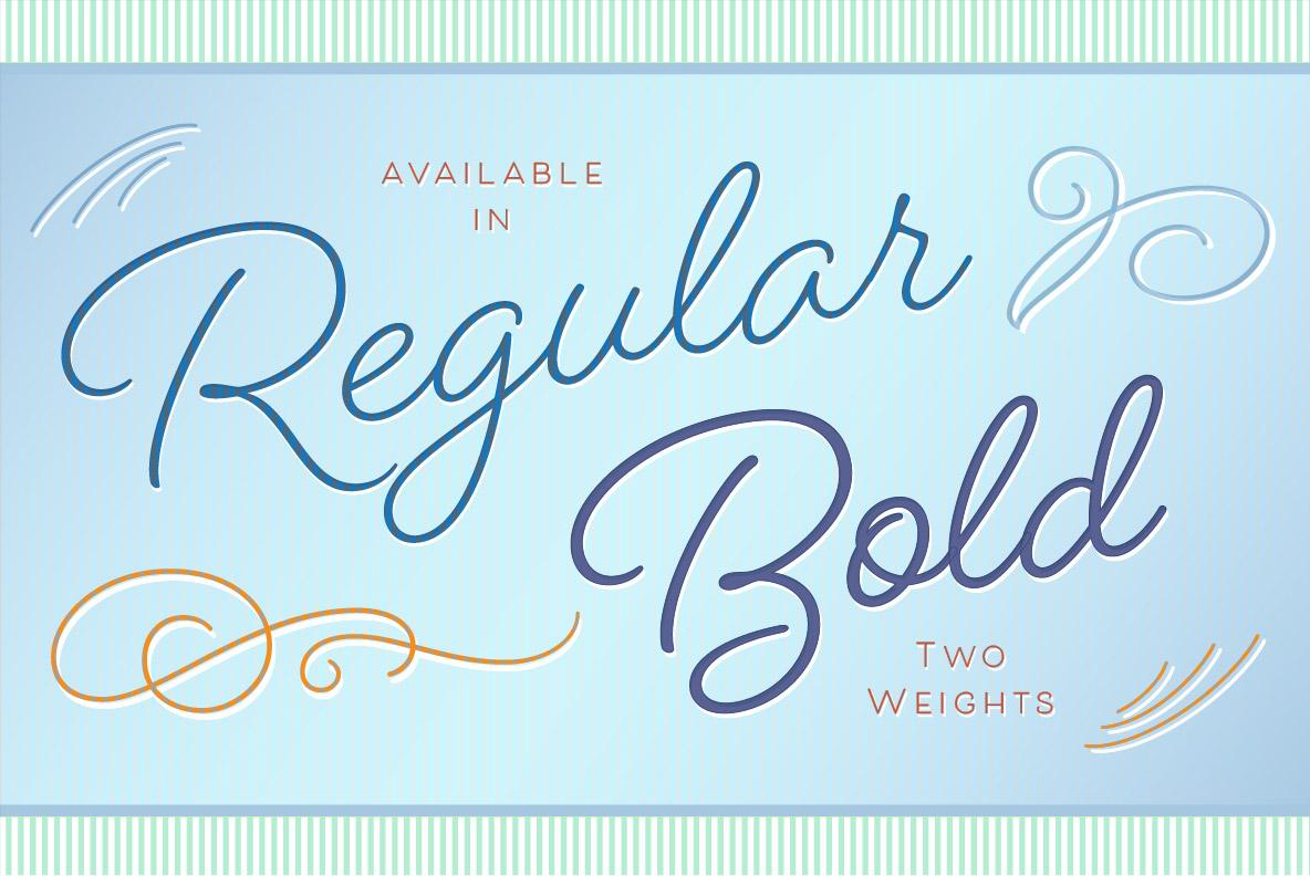 Beloved Script Bold example image 34