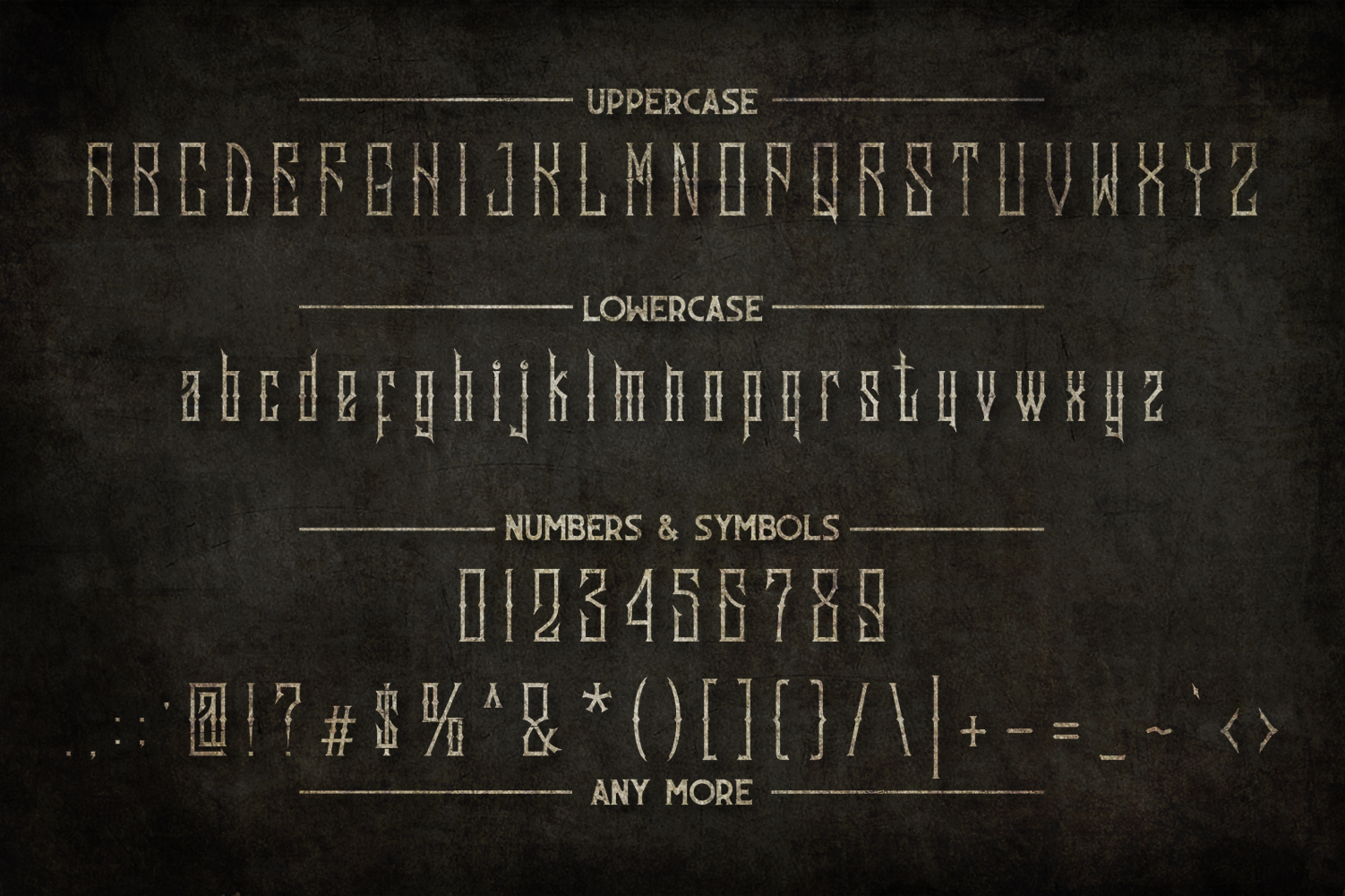 Sadis Typeface + Extras example image 3