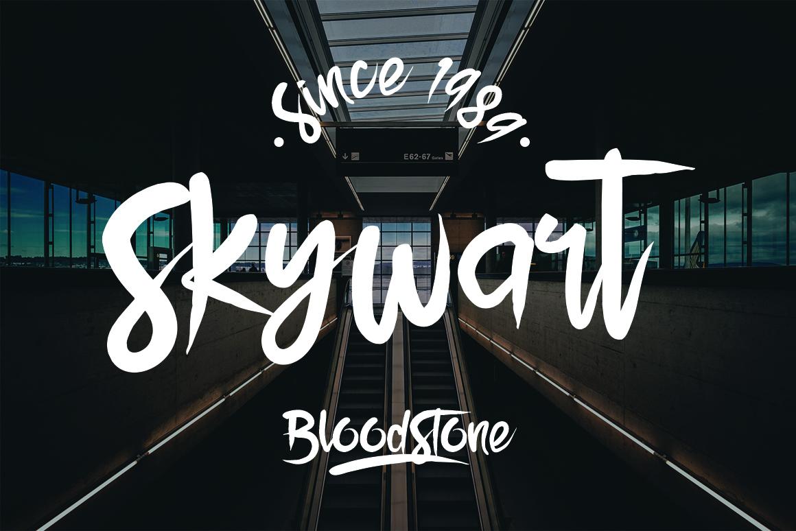 BloodStone Typeface example image 2