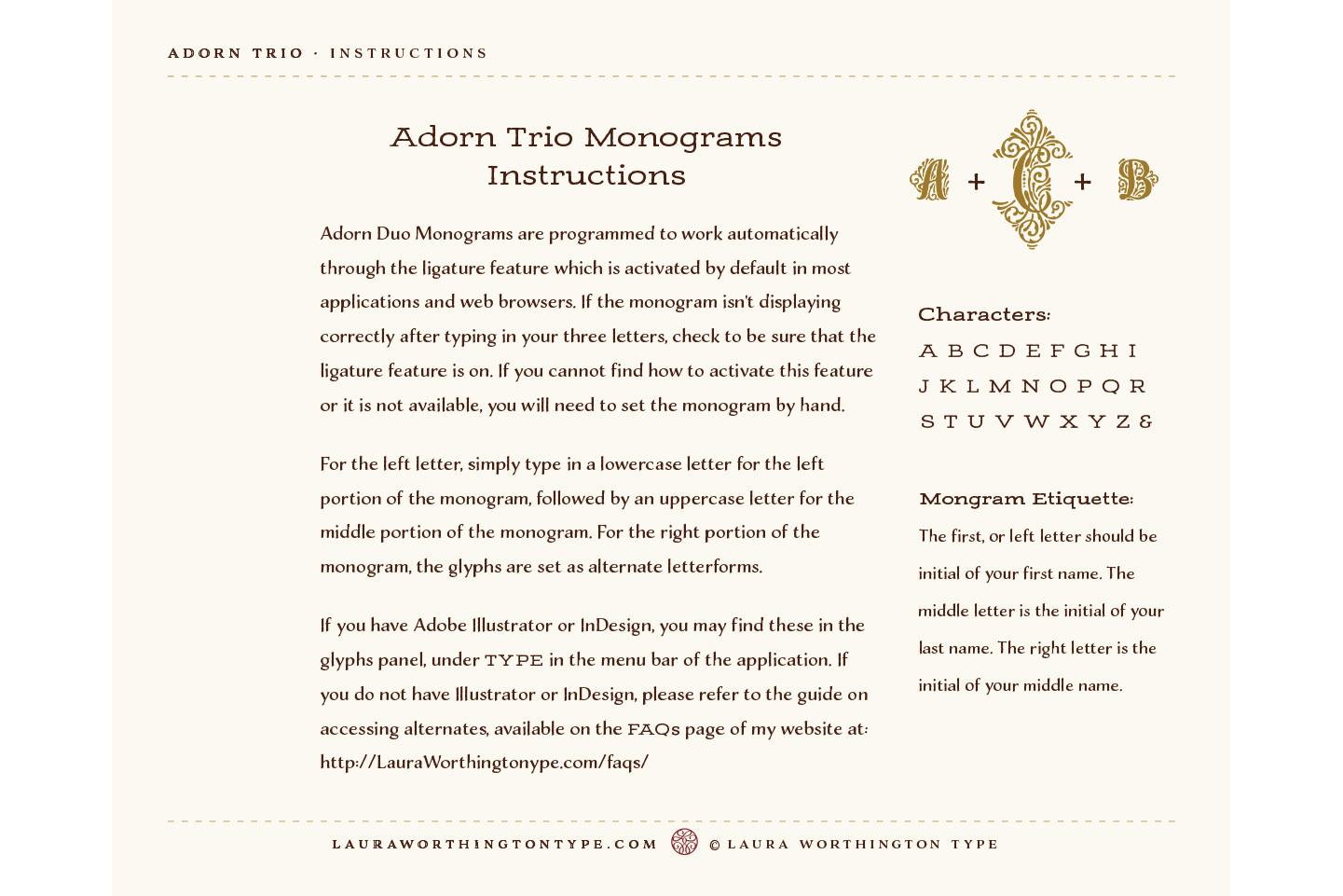 Adorn Trio example image 4
