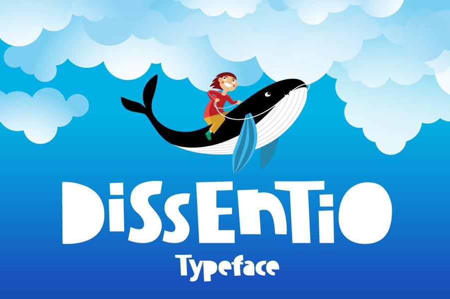 Dissentio Typeface example image 1