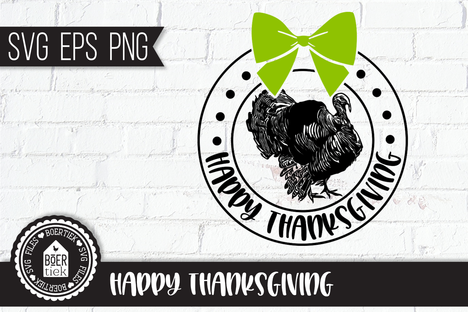 Thanksgiving, SVG cutting file, turkey example image 1