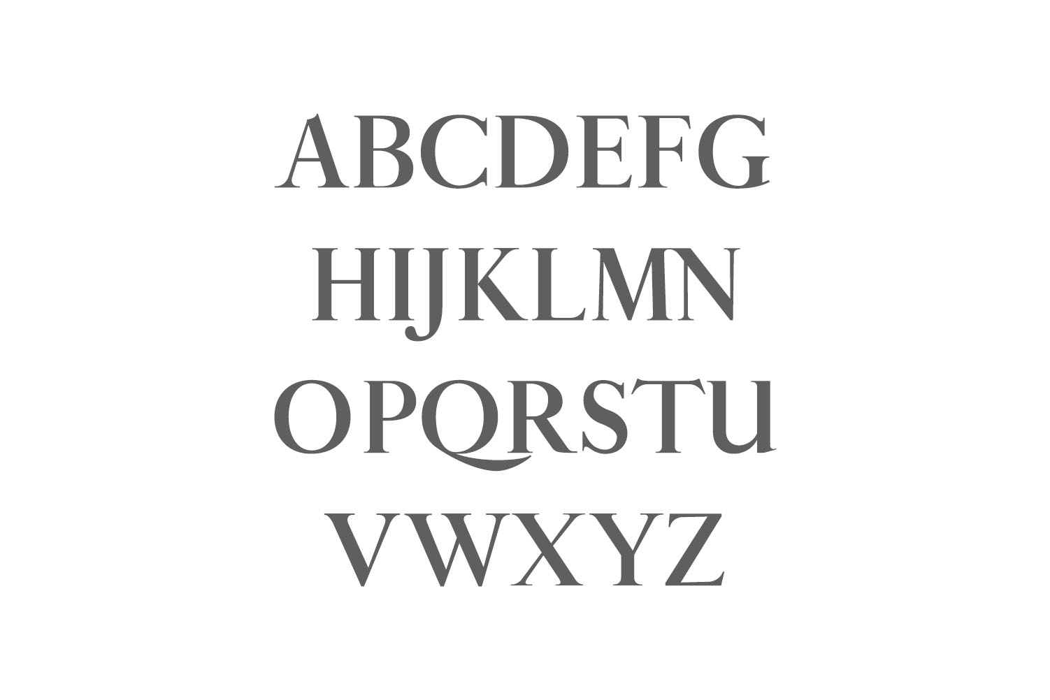 Aable A Modern Serif Font Family example image 2