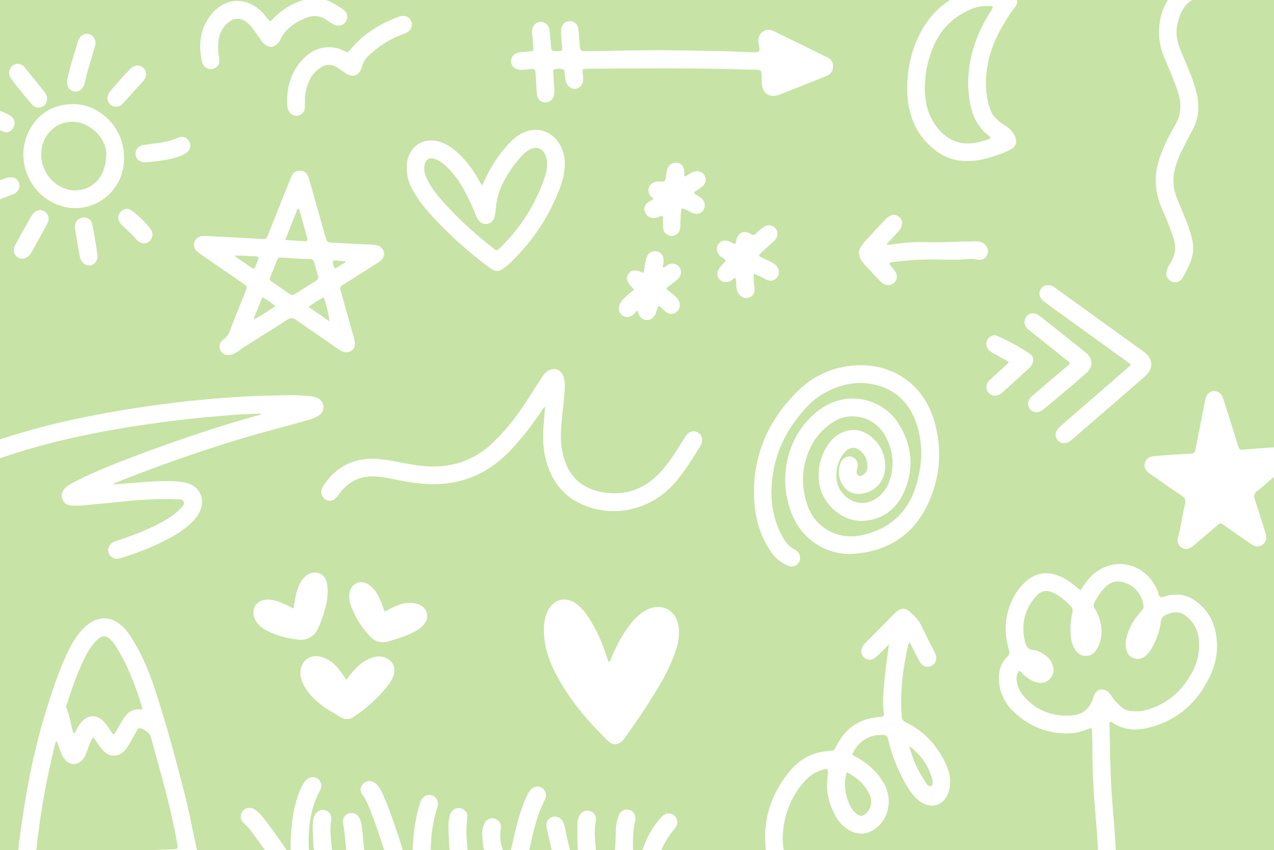 Sugar and Lime - A Fun Font with Doodles! example image 11