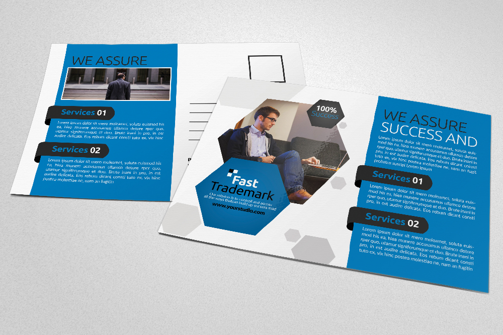 Business Postcards Psd Files example image 4