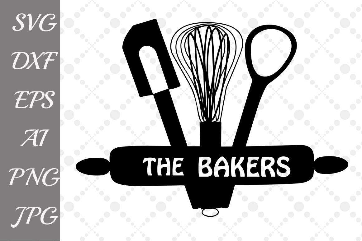 The Bakers Svg example image 1