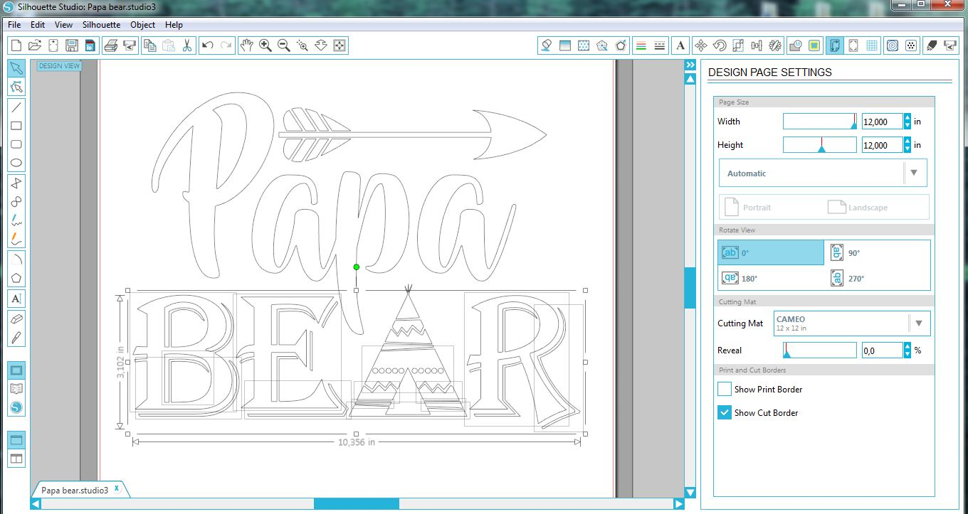 Papa bear SVG - Papa svg digital - Papa Bear with Arrow example image 2
