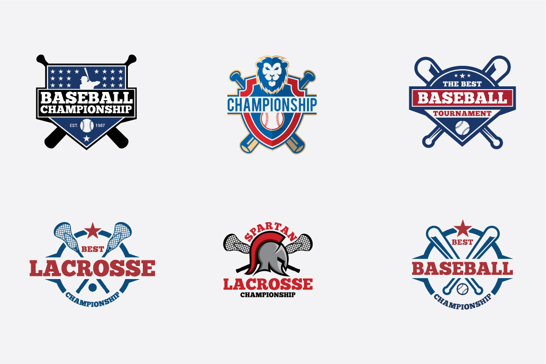 66 SPORTS Logo Templates BUNDLE example image 12