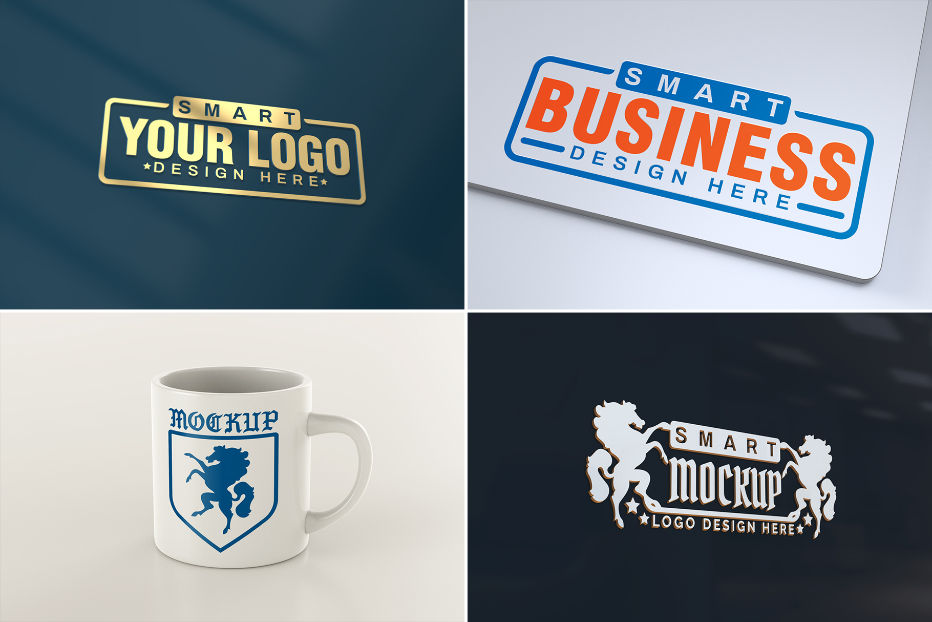 100 Logo Mockups Bundle Vol.3 example image 17