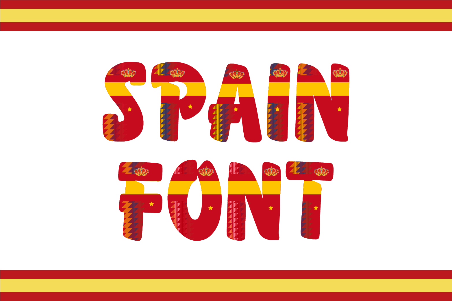 Spain Font example image 1