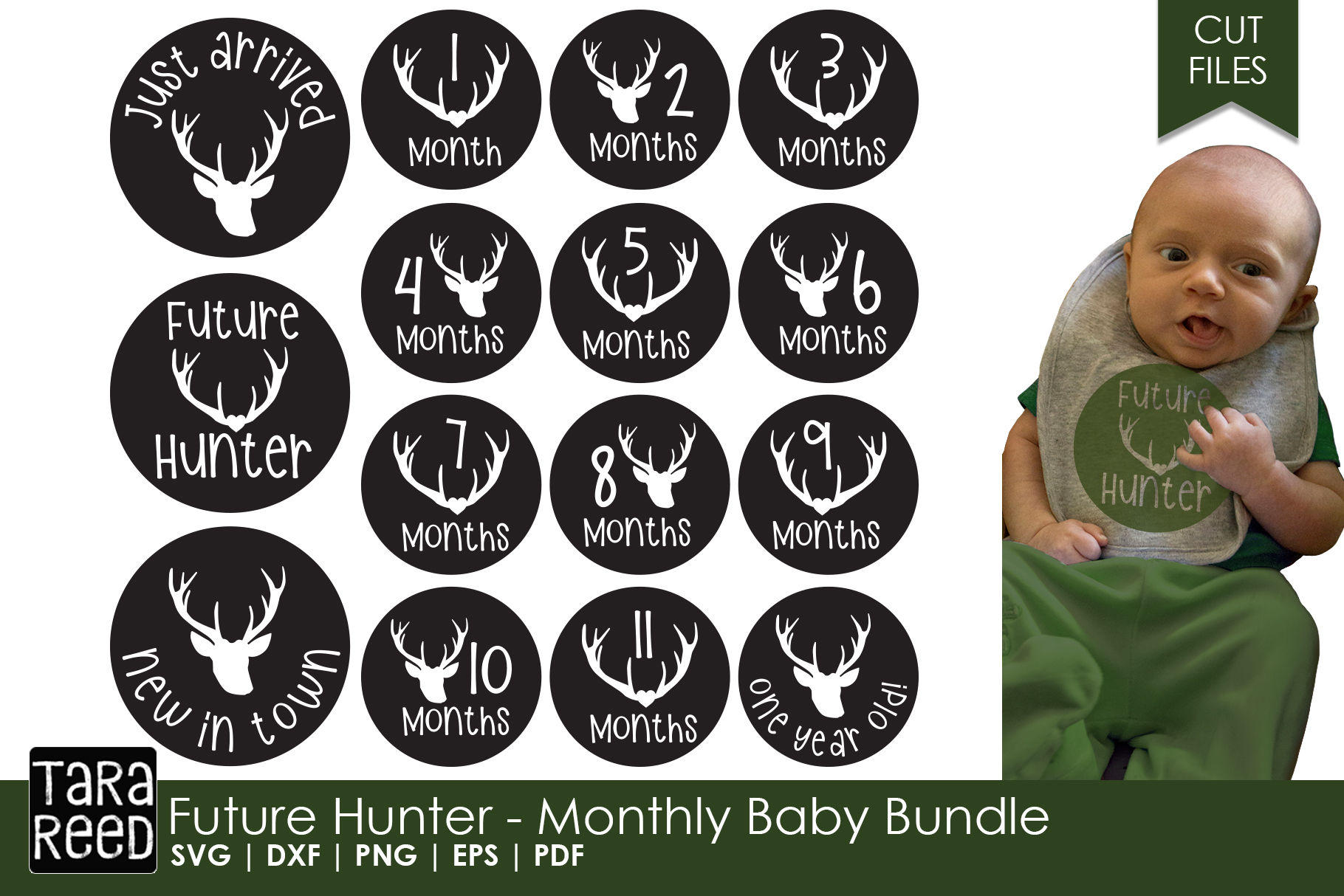 Future Hunter - Monthly Baby Bundle example image 1