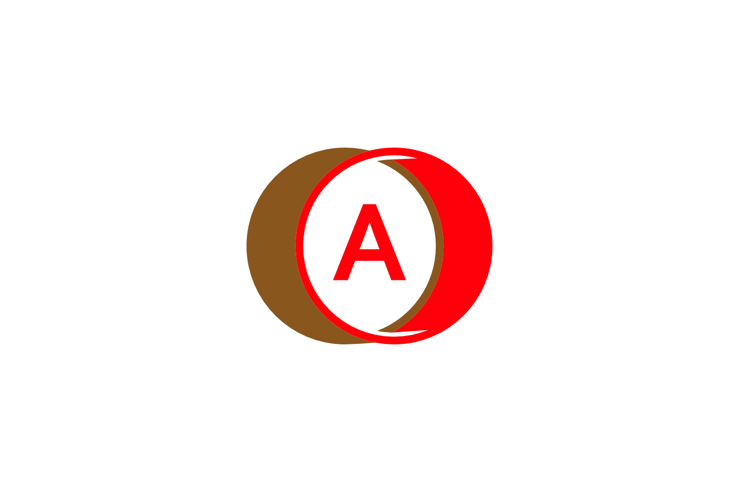 a letter circle logo example image 1