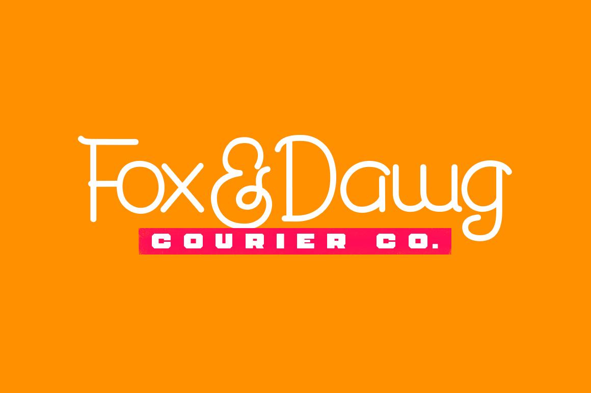 Durango & Ogra Font Duo example image 12