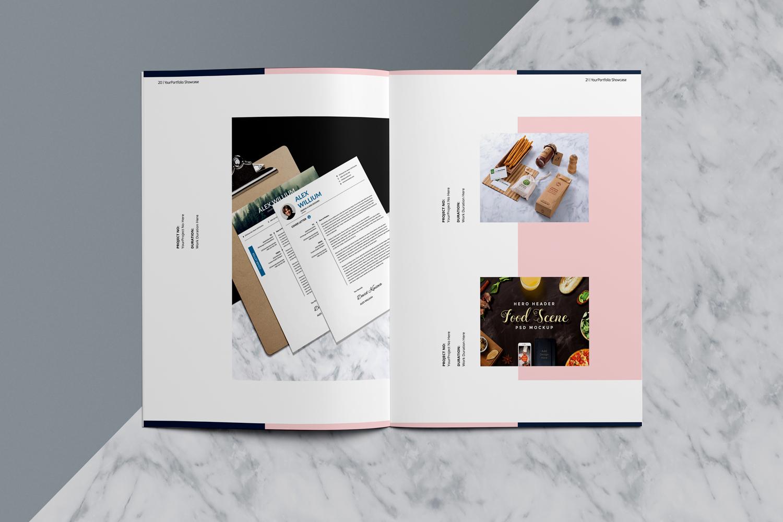 Designer Portfolio-48 Pages example image 13