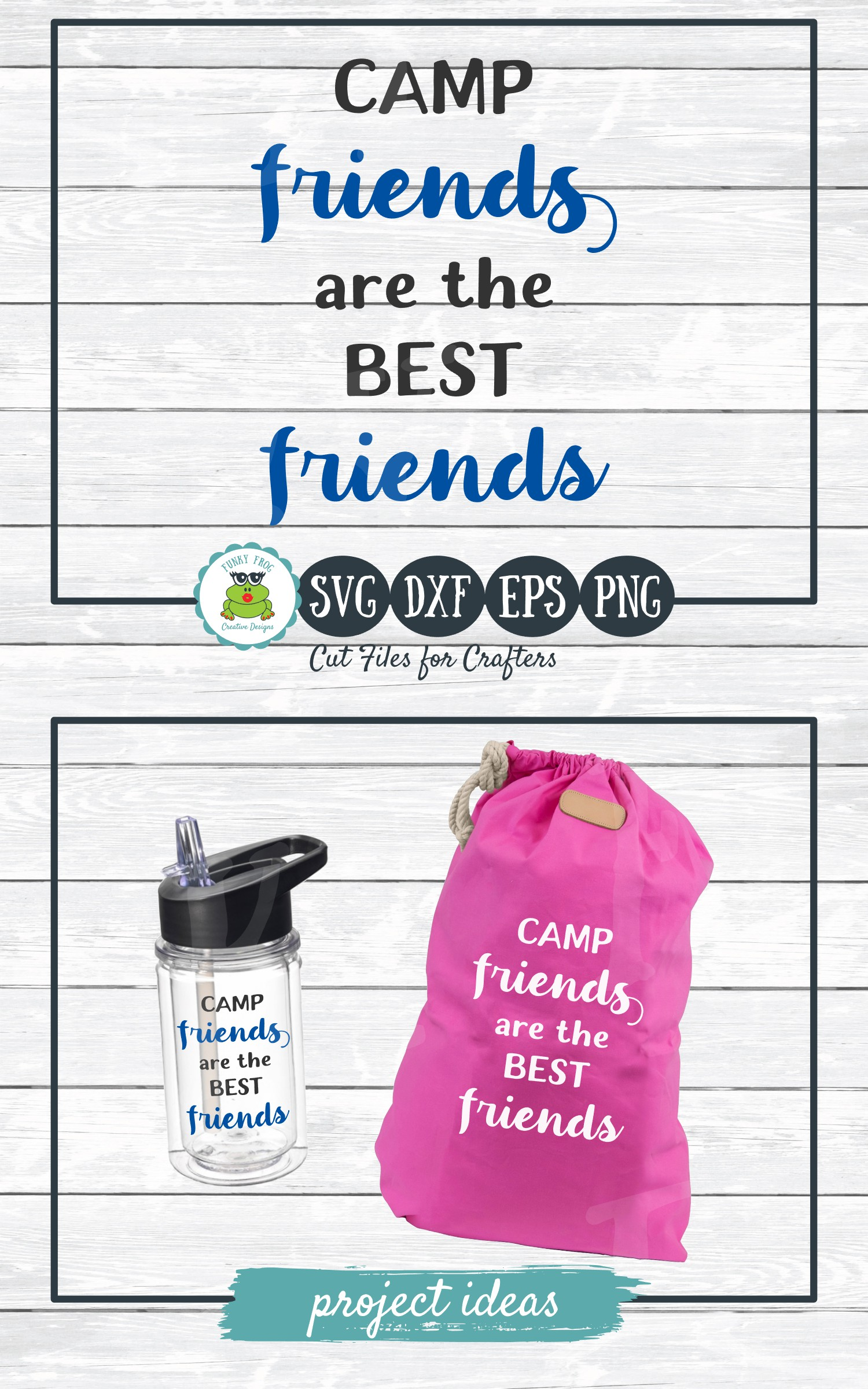 Camp Friends are the Best Friends, SVG Cut File for Crafters example image 4