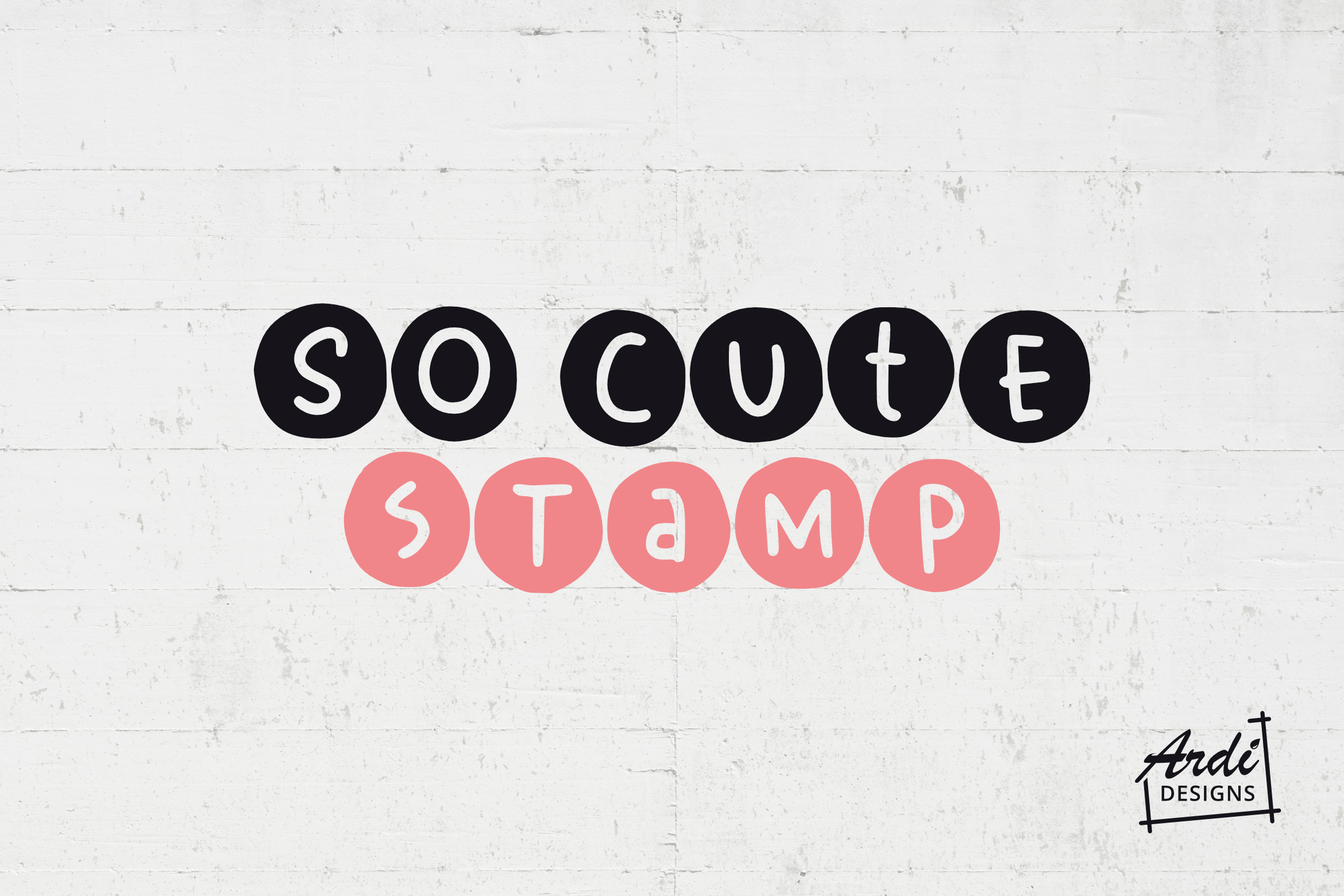 So Cute Font example image 1