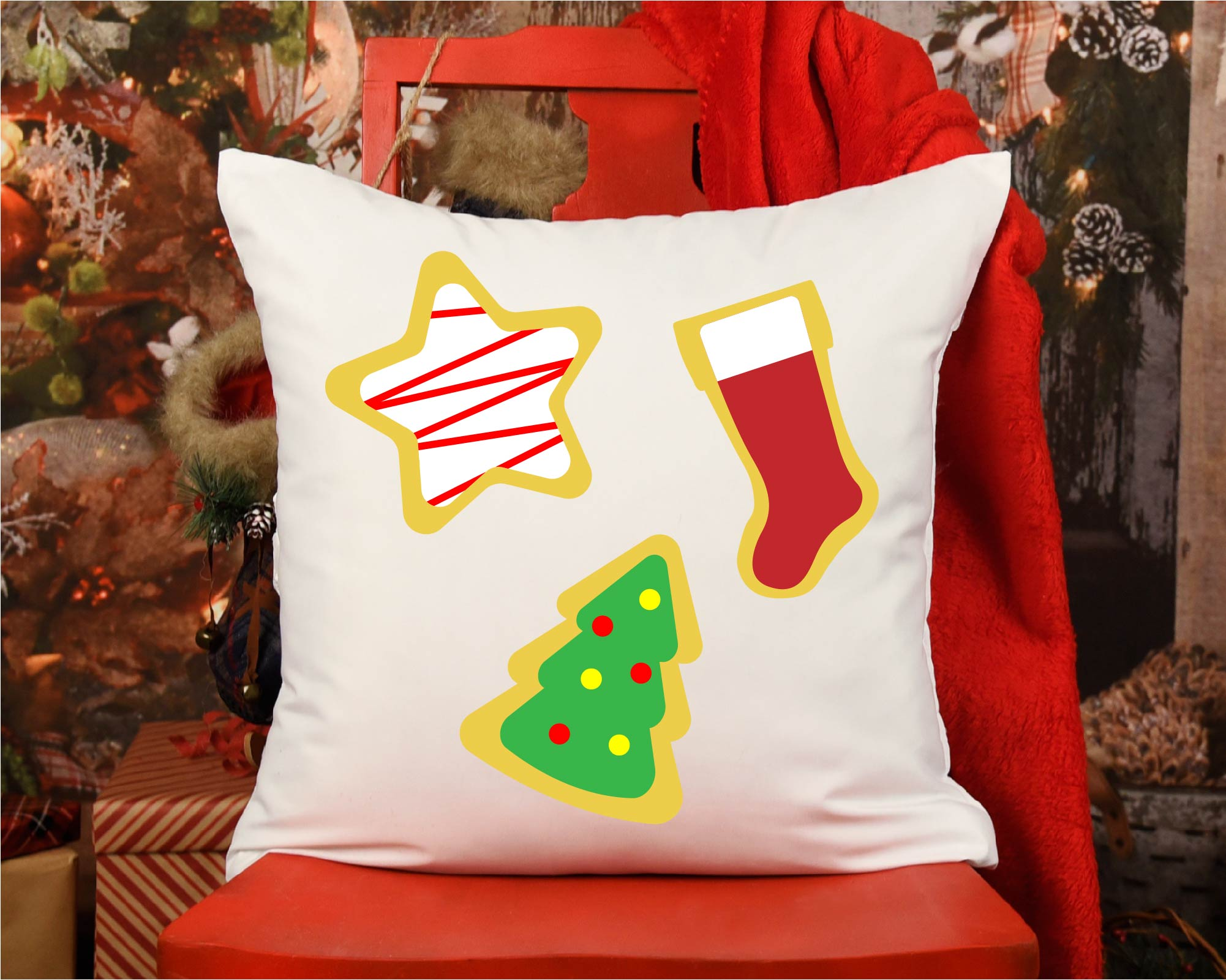 Hot Cocoa Bundle SVG, Sublimation, Cookies SVG, Snow Day example image 3