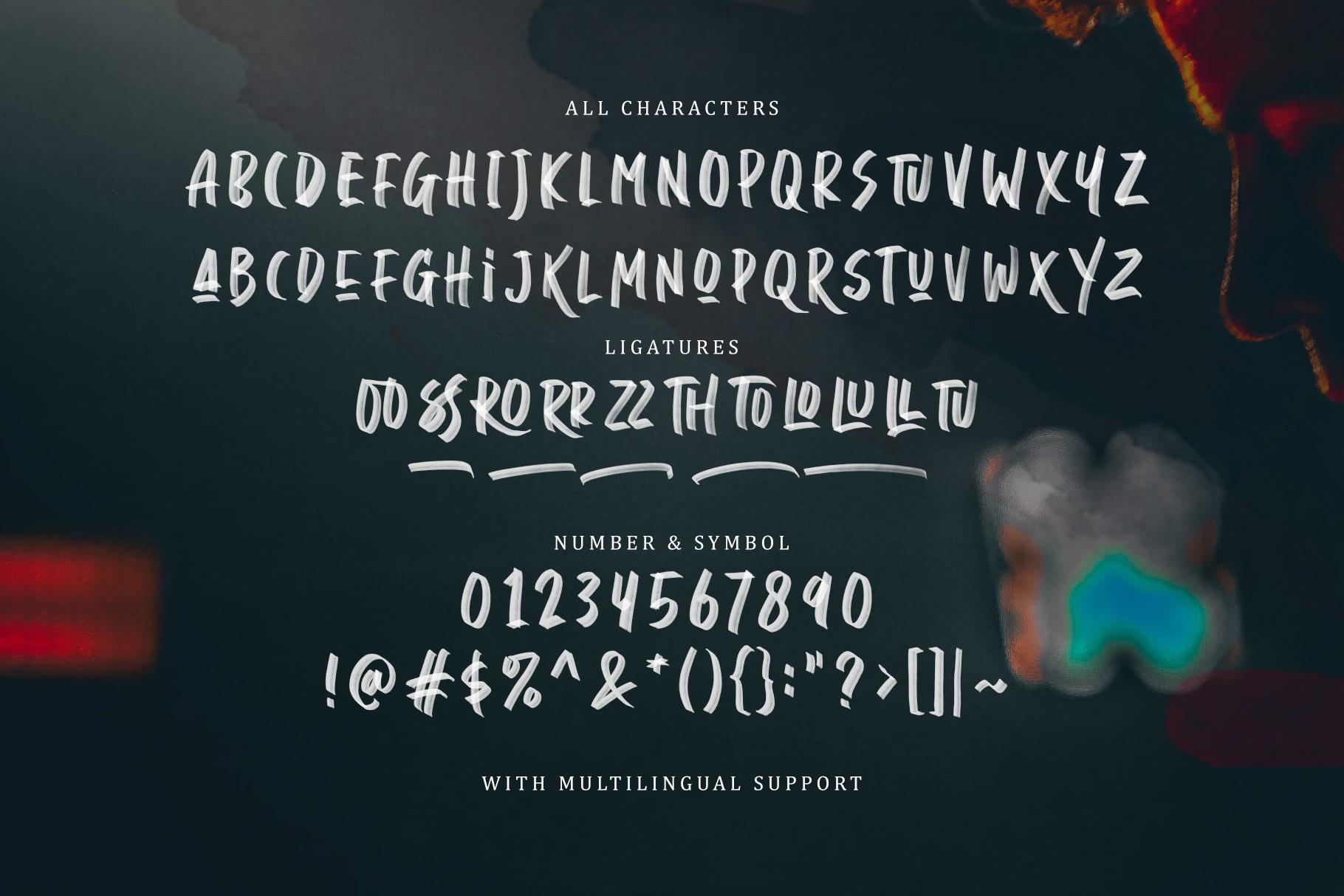 Daviton - SVG Font example image 9