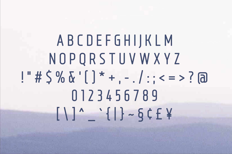 Bouffly Alice Medium Versionl Elegant font sans serif example image 2