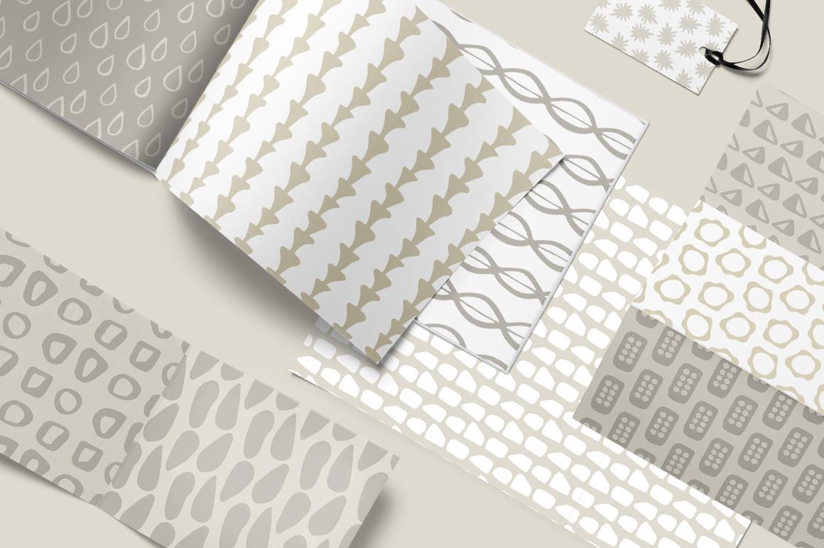 Scandinavian Patterns set of 40 example image 3