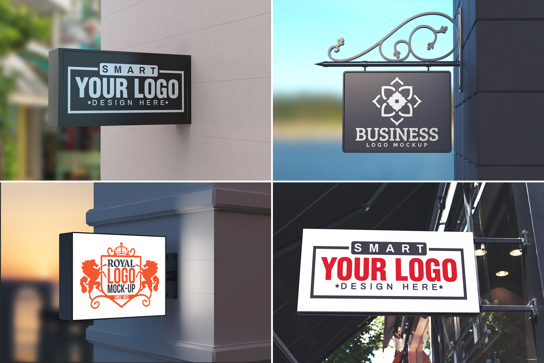 100 Logo Mockups Bundle Vol.3 example image 8