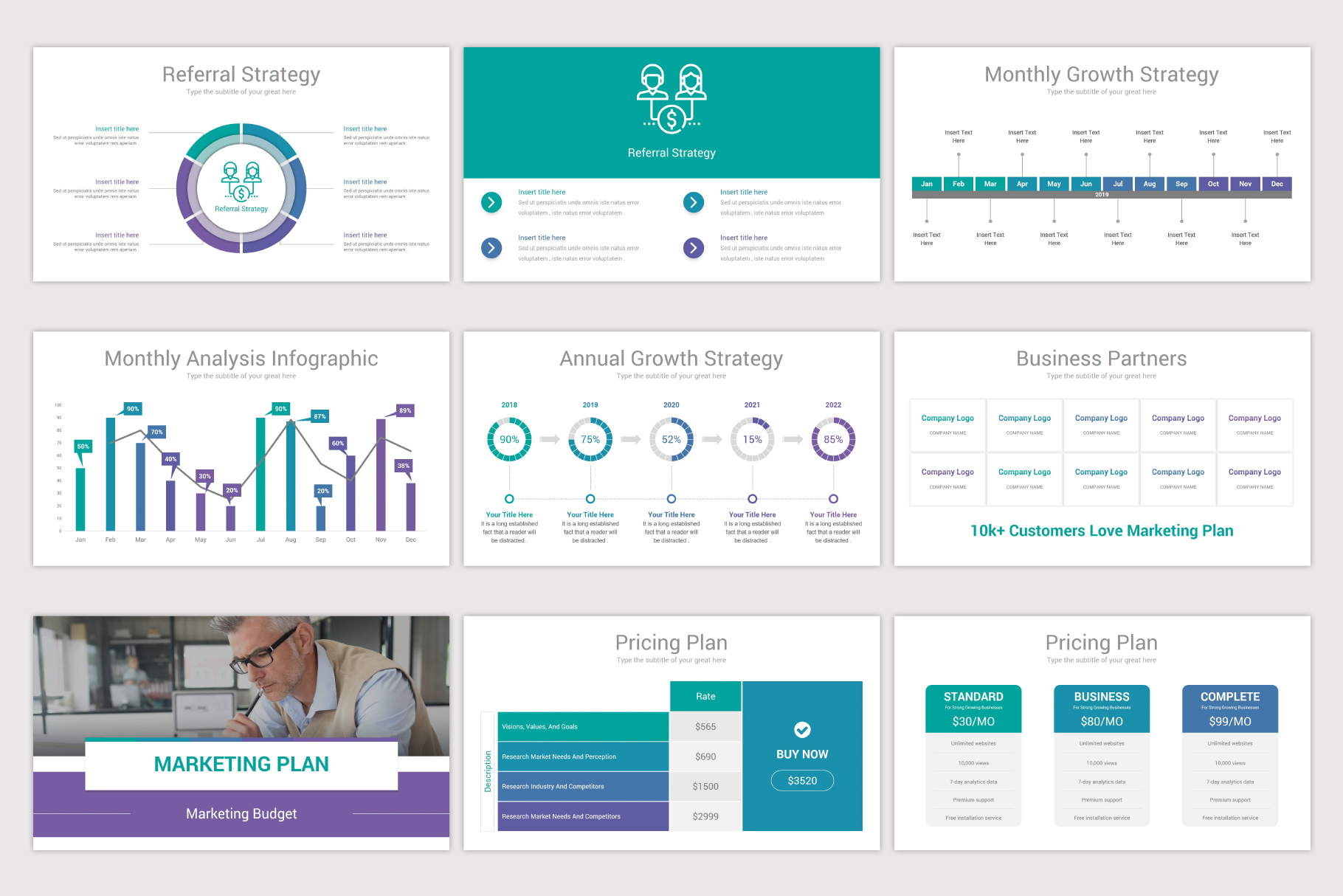Business Plan Keynote Template example image 13