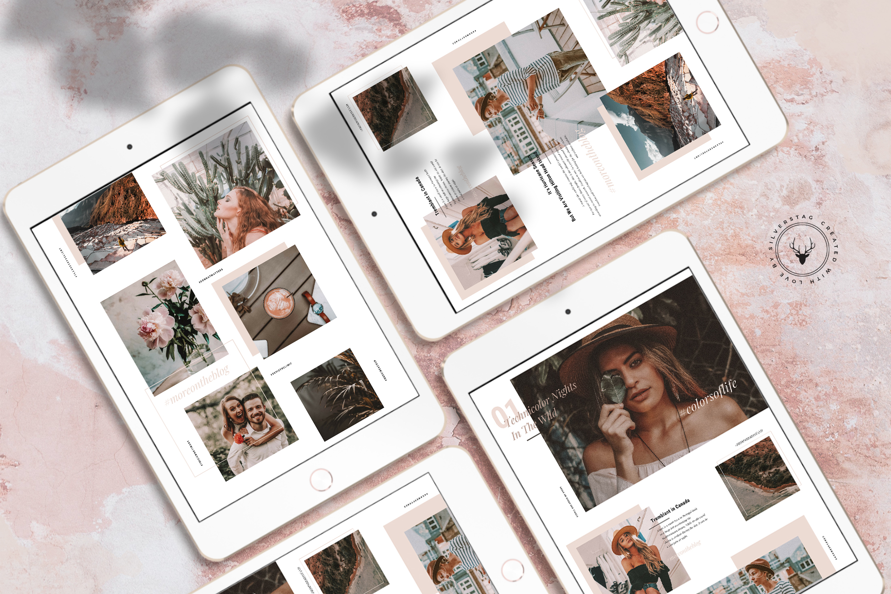 #InstaGrid 1.0 - Instagram Canva Puzzle Template example image 4