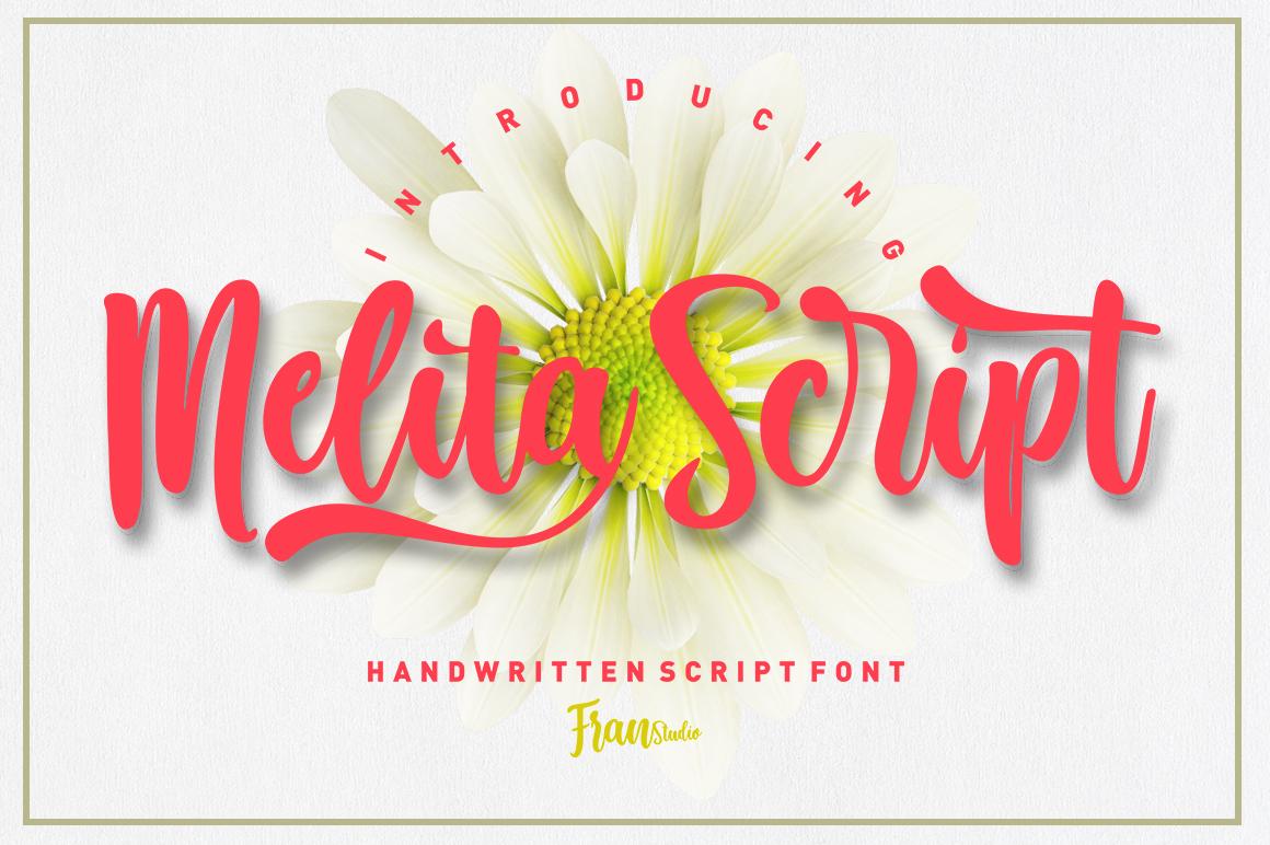 Melita Script example image 1