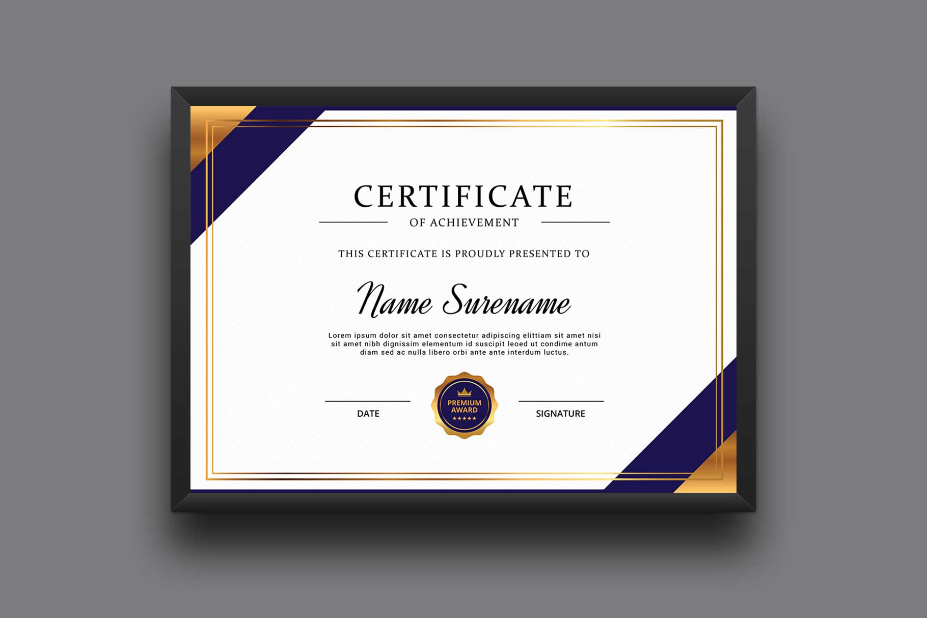 Certificate example image 2