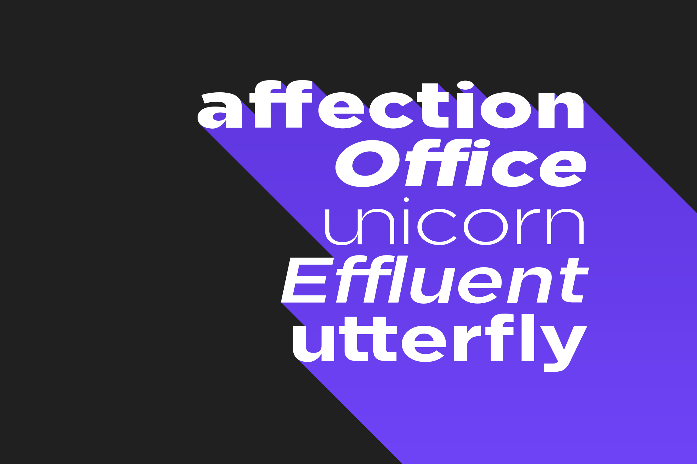 Uniclo Wide Sans Family Font example image 4