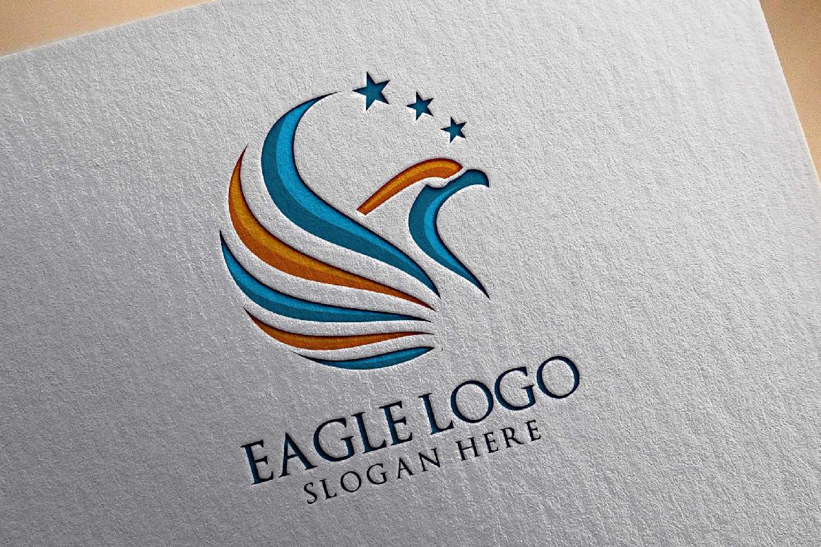 Eagle Star Logo Template example image 1