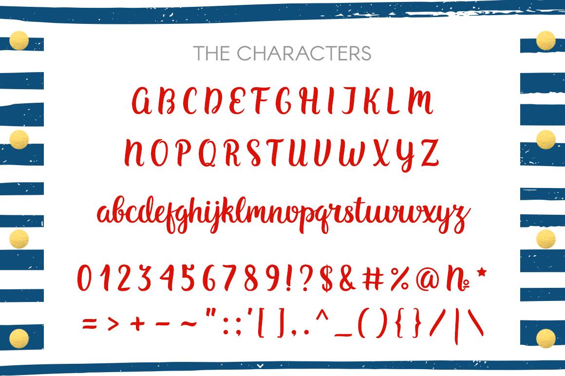 Belles Script - Modern Romantic Font example image 2